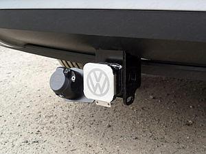Фаркоп (оцинкованный, шар E нерж.), Volkswagen Teramont 2018-