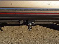 Фаркоп (оцинкованный, шар E нерж.), Volkswagen Touareg 2018- / Touareg R-Line 2018-