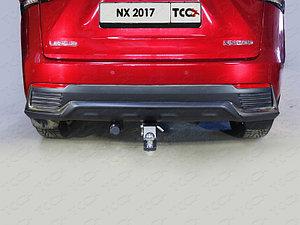 Фаркоп (оцинкованный, шар E), Lexus NX 200 2017-
