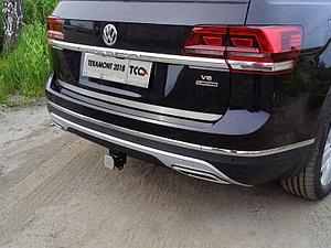 Фаркоп (оцинкованный, шар E), Volkswagen Teramont 2018-