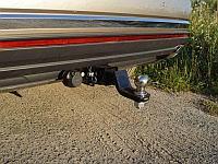 Фаркоп (оцинкованный, шар E), Volkswagen Touareg 2018- / Touareg R-Line 2018-