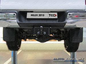 Фаркоп (оцинкованный, шар F), Toyota Hilux 2011/2015-