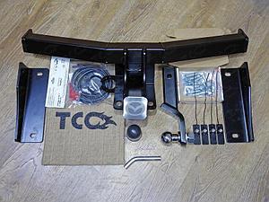 Фаркоп (оцинкованный, шар Е нерж.), Mazda CX-9 2017-