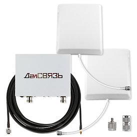 Комплект усиления сотовой связи ДалСВЯЗЬ DS-900/2100-17C3