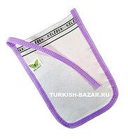 Мочалка-рукавица КЕСЕ для пилинга и массажа