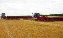 Жатка валковая зерновая ЖВЗ-10,7