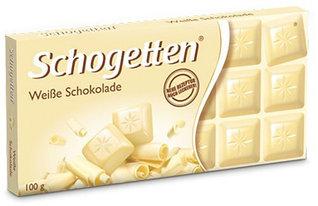 Молочный шоколад Schogetten  White 100гр (15 шт. в упаковке)