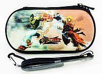 Чехол на молнии с 3D картинкой PSP 1000/2000/3000 3in1 3D picture, Street Fighter, фото 1