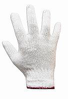 Перчатки трикотажные белые