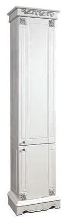 Шкаф «2Д Амелия 1» (490х2040х340) (СЕРЕБРО), фото 2