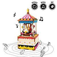 """Музыкальная шкатулка """"Merry-go-round"""""""