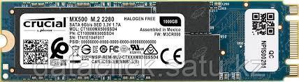 1000GB Crucial® MX500  M.2 Type 2280 SSD, фото 2