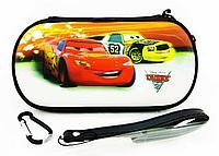 Чехол на молнии с 3D картинкой PSP 1000/2000/3000 3in1 3D picture, Cars 2, фото 1