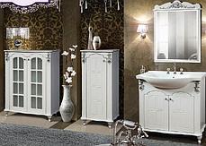 Зеркало Версаль (Серебро) (660х970х45), фото 2