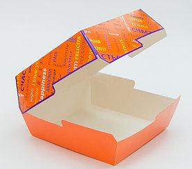 Коробка для гамбургера 118*117*71