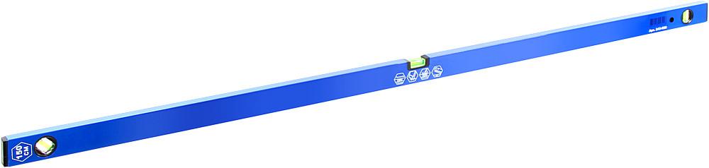 Уровень строительный КОБАЛЬТ Экстра, 1500 мм, профиль 30 x 65 мм, 3 глазка, 2 ручки, V-паз, точность, шт