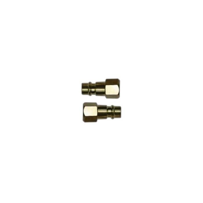 "Фитинг-переходник QUATTRO ELEMENTI UQ-3, соединение папа EURO - мама резьба 1/4 "", ( 2 шт ), шт"