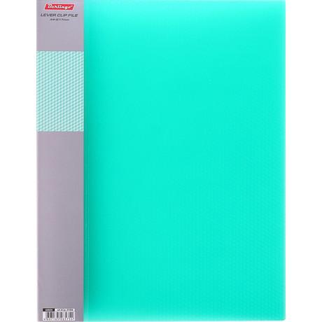 Папка с зажимом  BERLINGO Diamond Зеленый