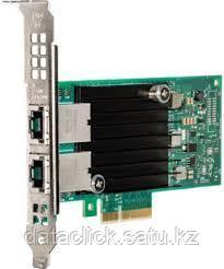 Intel® Ethernet Converged Network Adapter X550-T2, 10 Gbit/s, 2 ports, RJ-45 Cat 6/6A, PCI-E x4, PCI-SIG* SR-I
