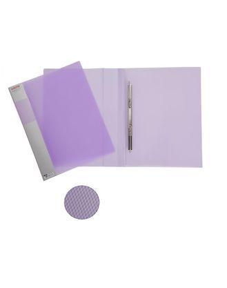 Папка пластиковая Berlingo A4 с пружинным скоросшивателем фиолетовая полупрозрачная, 17 мм