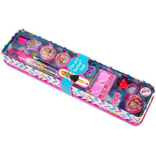 Barbie (Барби) Игровой набор детской декоративной косметики в пенале откр.