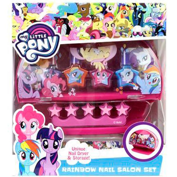 My Little Pony (MLP) Игровой набор детской декоративной косметики с сушкой лака