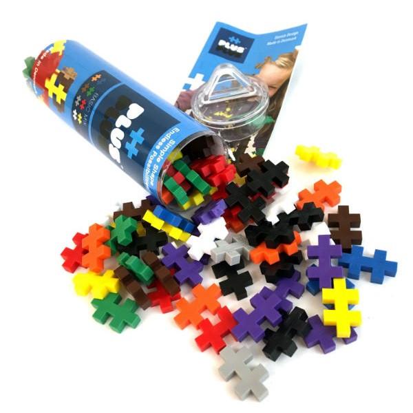 Игрушка Plus Plus Разноцветный конструктор для создания 3D моделей (базовый набор)