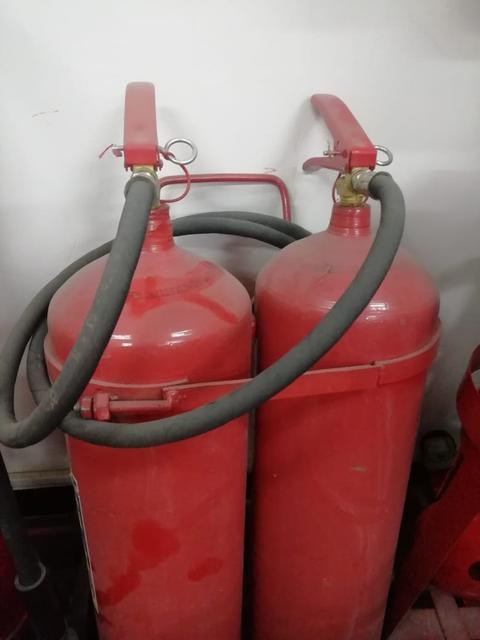 Перезарядка углекислотных огнетушителей (ОУ)