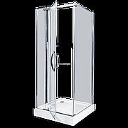 Душевое ограждение - AB214-90  900*900*2000 (без поддона) светлое стекло