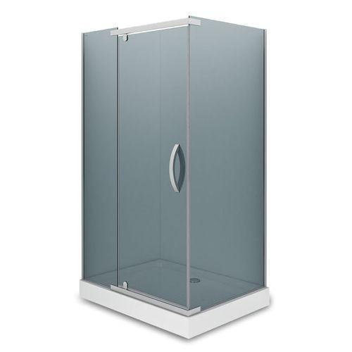 Душевое ограждение - AB244-120  1200*900*2000 (без поддона) тонированое стекло