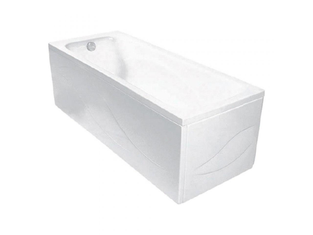 Ванна акриловая прямоугольная CLAVIS 150X70 БЕЛ КОМПЛЕКТ
