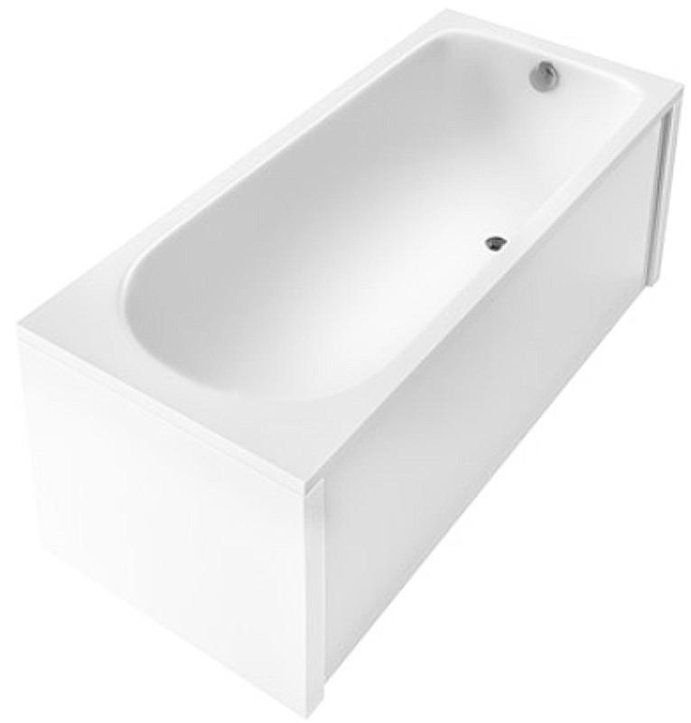 Ванна акриловая Акцент 160*70 в комплекте с ножками и элементами крепления
