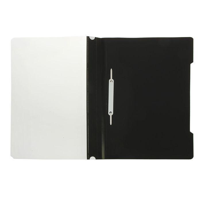 Папка - Скоросшиватель А5ф140/180мкм  Пластиковая прозрачный верх