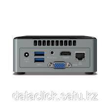 """Intel NUC kit: Cel J3455, 2xDDR3L SODIMM (max 8GB), 2.5"""" SATA SSD/HDD, SDXC UHS-I slot, Wireless-AC 3168 (M.2"""