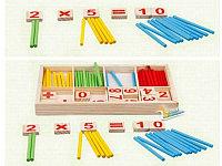 Счетные палочки деревянные, фото 1