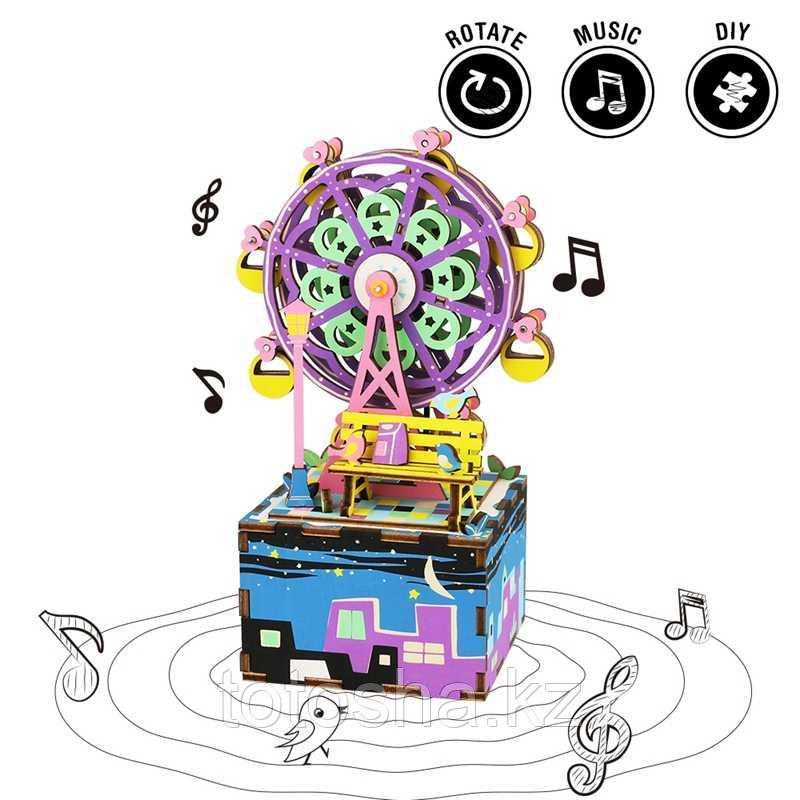 """Музыкальная шкатулка """" Ferris Wheel Колесо обозрения """""""