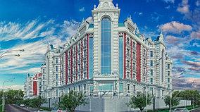3 комнатная квартира в ЖК Байсанат 173 м²