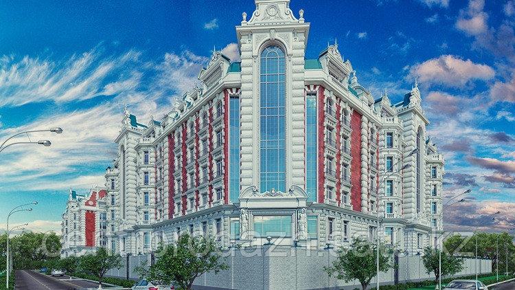 2 комнатная квартира в ЖК Байсанат 94.2 м²