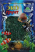 Цветная мраморная крошка 2-5 мм ИЗУМРУДНАЯ (блестящая)