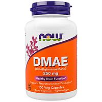 DMAE NOW Foods (250 мг/1капсула) 100 капсул