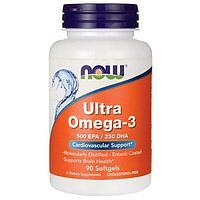 Ultra Omega-3 NOW Ультра омега-3 (90 капсул)