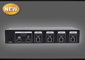 Свитчер KVM HDMI+USB SX-KVM401, фото 2