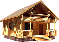 """Проектирование и строительство деревянных домов и бани от ТОО """"Дастан"""""""