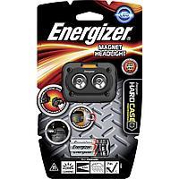 Фонарь налобный Energizer HardCase Magnet HL + focus 3x AAA