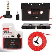 Адаптер кассетный AUX CAR KD200 3pin LU-004 c микрофоном