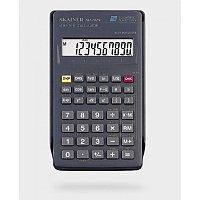 Калькулятор инженерный 10+2разрядов, 56 функций, 71x134х12мм, черный Skainer