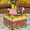 "Музыкальная шкатулка Robotime "" Tree House Домик на дереве "", фото 5"