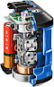 Нивелир лазерный линейный К-10, суперкомпакт, ЗУБР Профессионал 34902-2, двухлучевой, держатель, 15м, фото 2