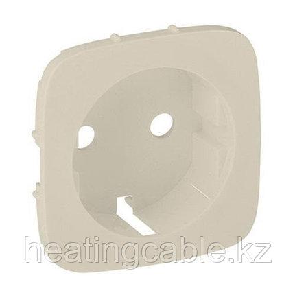 Legrand VALENA Allur Накл розет 1-я с земл крем, фото 2