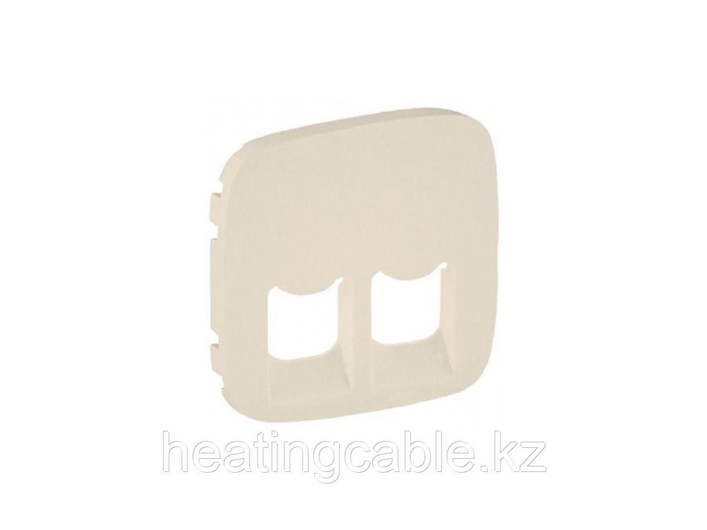 Legrand VALENA Allur Накл 2-я тел комп крем